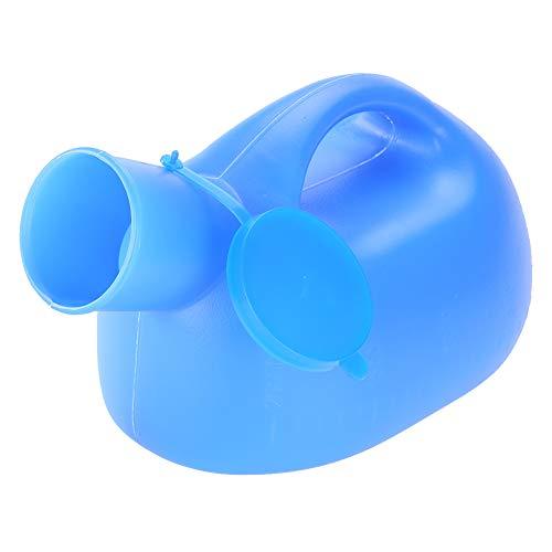 Urintopf, 2000ml Tragbare Outdoor-Urinflasche mit Deckel Männlicher Urin-Urinspeicher für Urin-Kollektorgebrauch für Reisen, Container-Trucker, Krankenhäuser
