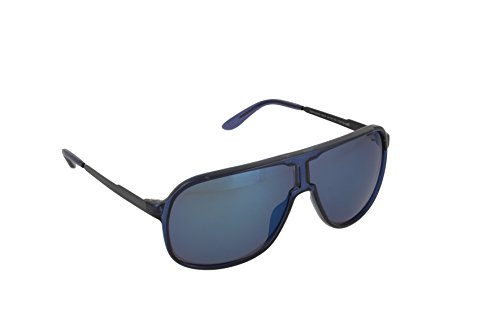 Carrera Herren New Safari Xt Sonnenbrille, Blau (Bluette/Blue Sky Grey Speckled), 64