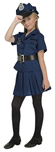 Imagen de my other me  disfraz de policía para niña, 7 9 años viving costumes 204231