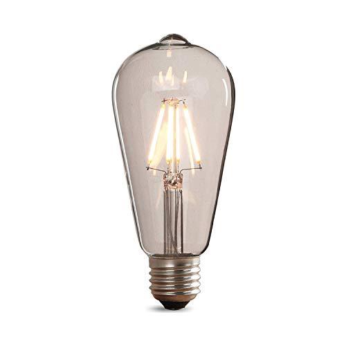 Retro 1x LED Gute Qualität Glühbirne Star Classic Edison Form mit E27-Sockel Nicht Dimmbar Filamentstil Klar Warmes Licht Glühbirne 40W Gute Qualität Led
