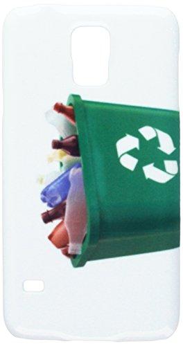 Papierkorb mit Kunststoff Flaschen Handy Tasche Cover Case Samsung S5 (Kunststoff-papierkorb-taschen)