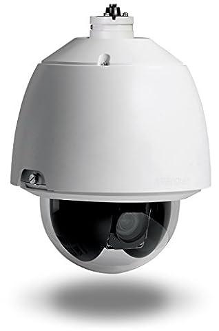 Trendnet TV-IP450P Outdoor 1.3 MP HD PoE+ Speed Dome Netzwerkkamera weiß