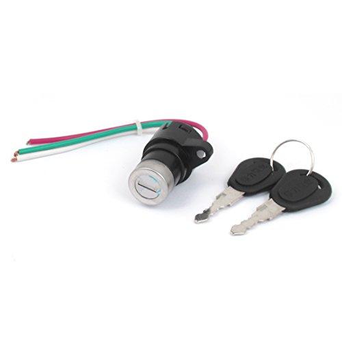 Aexit Zündung Rahmen & Anbauteile Start 3Draht Motorrad Electric Key Schlösser & Verriegelungen Switch Lock