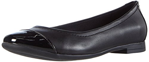 ClarksAtomic Haze - Ballerine Donna , Nero (Schwarz (Black Combi Leather)), 37 EU