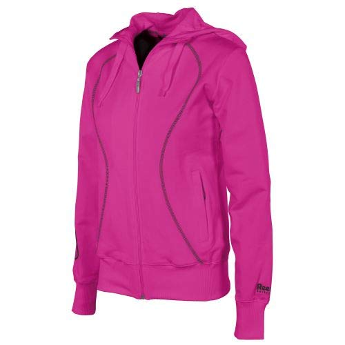 Reece Hockey Kapuzen Jacke Damen Full Zip - KNOCKOUT PINK, Größe #:S Knockout-zip
