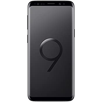 "Samsung Galaxy S9 Smartphone, Nero (Midnight Black), Display 5.8"", 64 GB Espandibili, Dual SIM [Versione Italiana]"