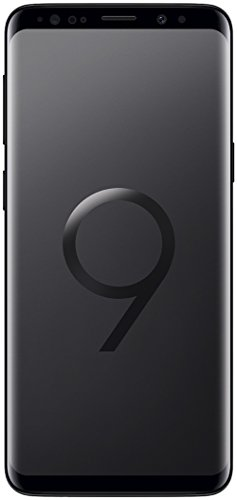 Samsung Galaxy S9 Smartphone (5,8 Zoll Touch-Display, 64GB interner Speicher, Android, Dual Sim) Midnight Black – Deutsche Version