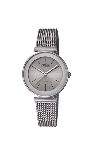 Lotus Watches Womens Analogue Classic Quartz Watch with Stainless Steel Strap 18435/2