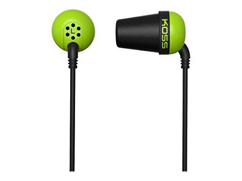 KOSS 185323 The Plug In-Ear Kopfhörer grün