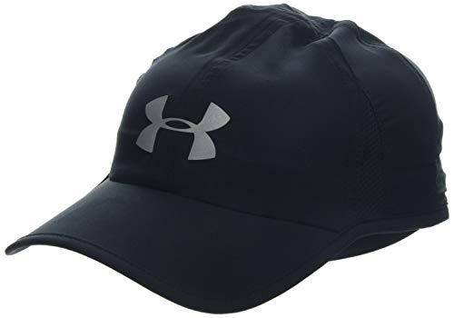 Under Armour Men'S Shadow Cap 4.0, Cappello Uomo, Nero Black/Reflective, Taglia unica