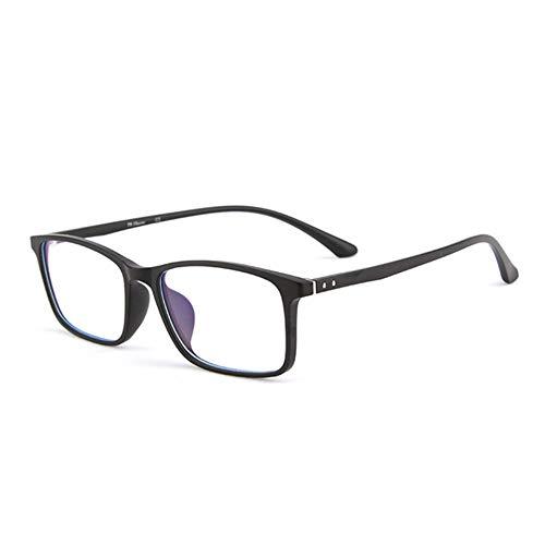 YPSMJLL In Brille Eingeclippt Computerbrille , Anti-Blaue Eckige Brille Für Blau- Und UV-Schutz Blaulichtfilter Gegen UV-Kopfschmerzen Unisex (Männer/Frauen)