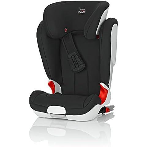 Romer Kidfix XP - Silla de coche, color negro. Edad de 4 a 12 años