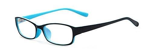 Outray Kinder Retro Rechteck klare Linse Brille 8005C1 Blau