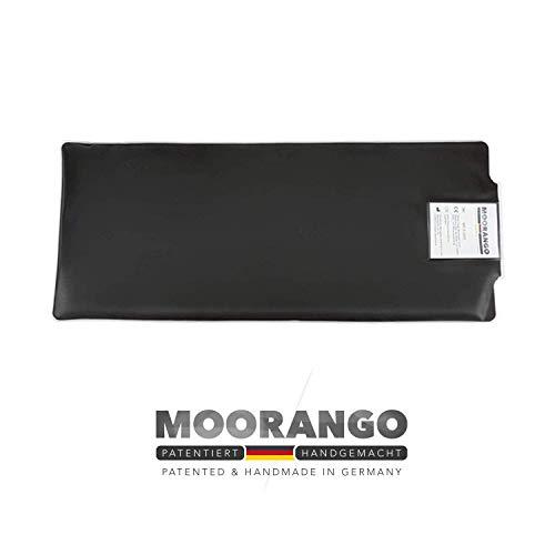 Moorkissen für Mikrowelle und Wasserbad | 55x23 cm | Fango Moorpackung für Nacken, Rücken und Schulter | MOORANGO