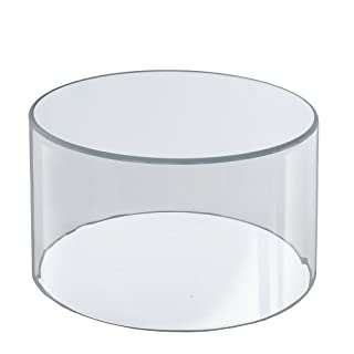 Azar Displays 556908 10-Inch W by 8-Inch H Clear Acrylic Cylinder