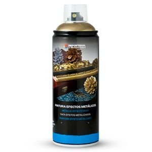 Montana Colors MTN Industrial Spray Plata Cromada 400ml - Spray con Efectos Metálicos, Plata Cromada, 400 ml