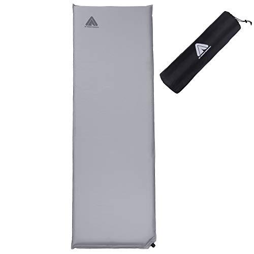 10T Tom 198x63x6 cm selbstaufblasbare Isomatte wasserdichte Thermomatte abwaschbares Luftbett Matte