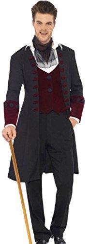 Edward Cullen Kostüm - erdbeerloft - Herren Karnevalskomplettkostüm Gothic Vampir