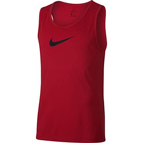Nike Herren Dry Top Sl Crossover Bb Tanktop, University red/Black, XL