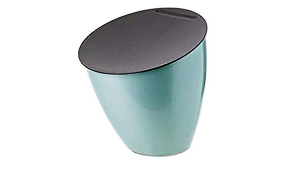 Zwart 17.5 x 18.4 cm Mepal Abfallbeh/älter Calypso Plastik