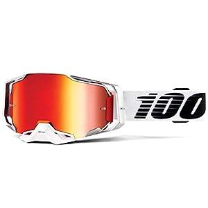 100% ARMEGA Goggle Lightsaber, Rot Spiegellinse, Erwachsene