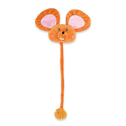 (Hilai 1pc Katze Chew Spielzeug mit Catnip Welpen Greiflinge Welpen kauen Spielzeug (orange Eichhörnchen))