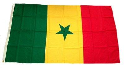 Fahne / Flagge Senegal NEU 90 x 150 cm Flaggen