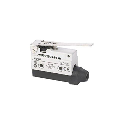 Airtech Mikro-Schalter, SPDT, 250VAC, 10A 7120 -