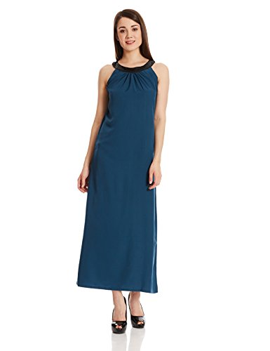 Style Quotient by noi Women's A-Line Dress (AW16SQSHANAYA01_Navy_M)
