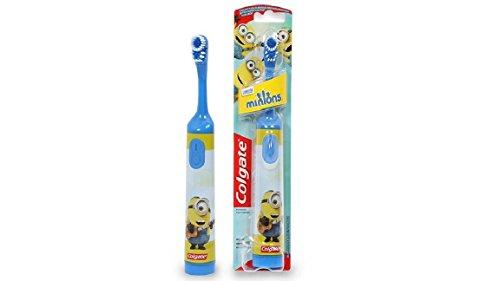 Elmex Minion Zahnbürste für Kinder Batteriebetrieben (Blau)