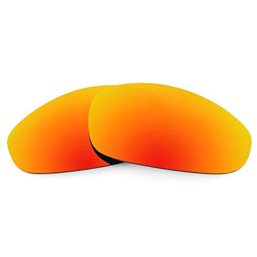 Revant Ersatzlinsen für Oakley Juliet Polarisierung Elite Feuerrot MirrorShield®