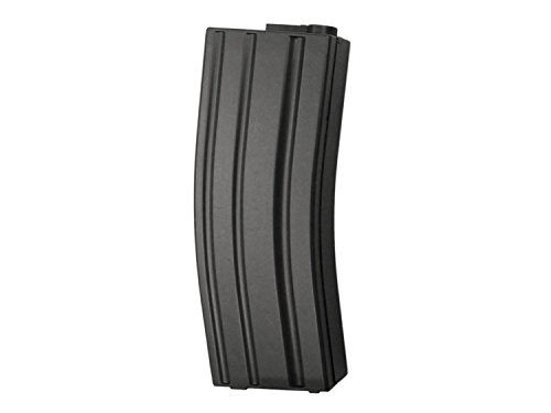 UFC M4 / M16 Midcap Magazin (100 BBs) -ABS Version-, schwarz, für Softair / Airsoft (S)AEGs