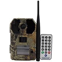 Escultismo cámara de caza HD GPRS MMS Rastro Infrarrojo Digital IR de 940nm cámara GSM IR LED con mando a distancia inalámbrico