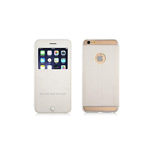 G-Case Sense Series flip Cover Case PU PC TPU Coque de protection pour iPhone 6Plus 6S plus de 5,5 pouces iphone blanc 6