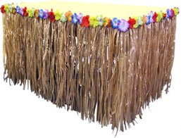 Nylon-Tiki-Table-Skirt-108in-x-29in-Tropical-Hawaiian-Party-Decorations-by-Party-Packs