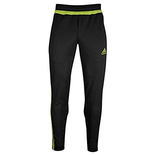 adidas Women's Tiro 15 Training Pant (Black/SemiSolarYellow) Sz SM - Womens Tiro Training