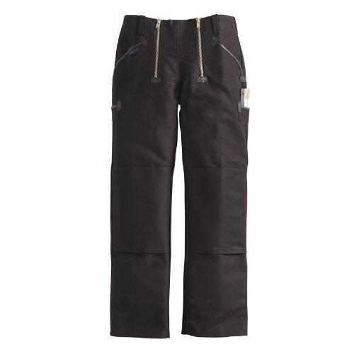 Preisvergleich Produktbild PIONIER WORKWEAR Herren Zwirndoppelpilot-Zunfthose ohne Schlag in schwarz (Art.-Nr. 305) schwarz,Größe 52