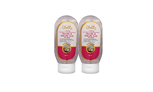 Globus Remedies Glycolic Acid and Face Wash, 100 ml (Pack of 2)