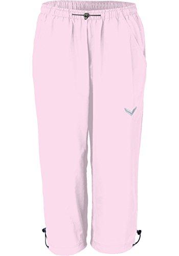 Trigema Damen 3/4 Freizeithose, Shorts Sportifs Femme rose clair