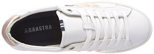 Gaastra Damen Cat Met CTR W Sneaker Mehrfarbig (white-rose Gold)