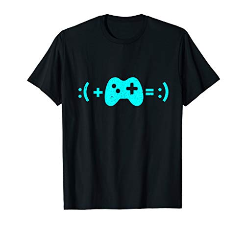 Formula for Happiness Gamer T-Shirt, Geek, Nerd TShirt