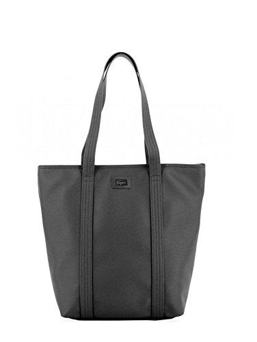 Shopping bag Lacoste spalla (nero)