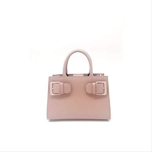 YUELUCKY HandtascheTrendige Handtasche Damen Mode Brest Einfache Damen Tasche Ein-schulter-diagonale Über High-end-handtasche rosa -