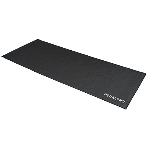 PedalPro Stoßdämpfende Bodenschutzmatte für Heimtrainer/Rollentrainer