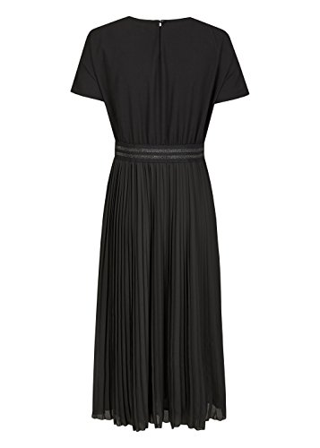 Daniel Hechter Plissee Dress, Vestito Donna Black