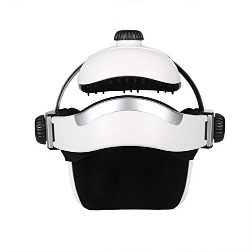 YUSDP Elektrisches Multifunktions-Kopfmassagegerät mit Heizung - 3-Modus-Design, Luftdruck-Entspannungsmassage - mit Fernbedienung Stressabbau