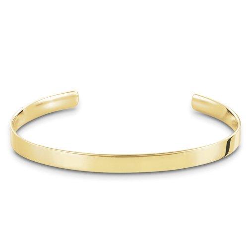 Thomas Sabo Damen-Armreifen Silber_vergoldet AR087-413-12-L