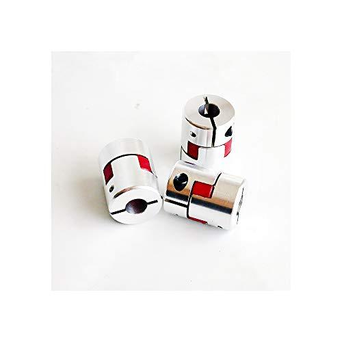25mm Klauenkupplung 3pcs/lot 4mm 5mm 6mm 6,35mm 7mm 8mm 9mm 9,5mm 10mm 12mm Flexible Kiefer Spinne Pflaume Kupplung Wellenkupplung, 6x8mm -