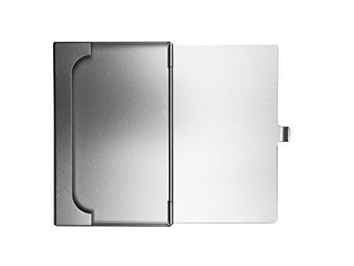 Premium Designer Visitenkartenetui Kreditkartenetui Visitenkartenhülle Kreditkartenhülle Business Card Case Box 100 Aluminium Masse 95x60x05mm