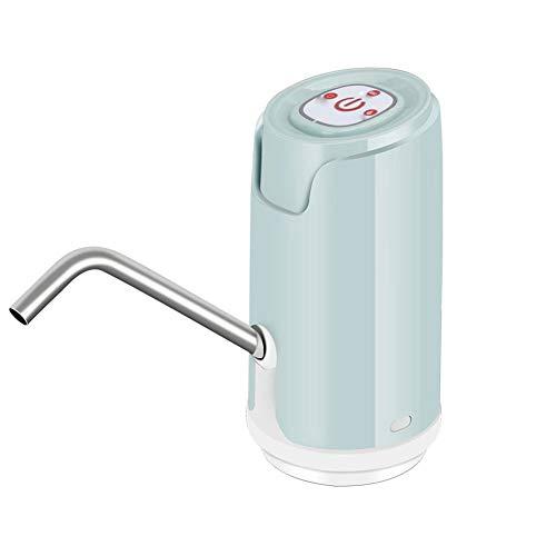 Rrunzfon Botella hogar Dispensador de Agua portátil Compacto de Agua Potable de la Bomba cuantitativa de efluentes Cambie 1pc Azul Modelo Inteligente